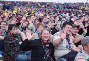German Scouts at the 22 World Scout Jamboree (August 2011)