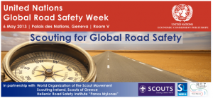UN Global Road Safety Week 2013
