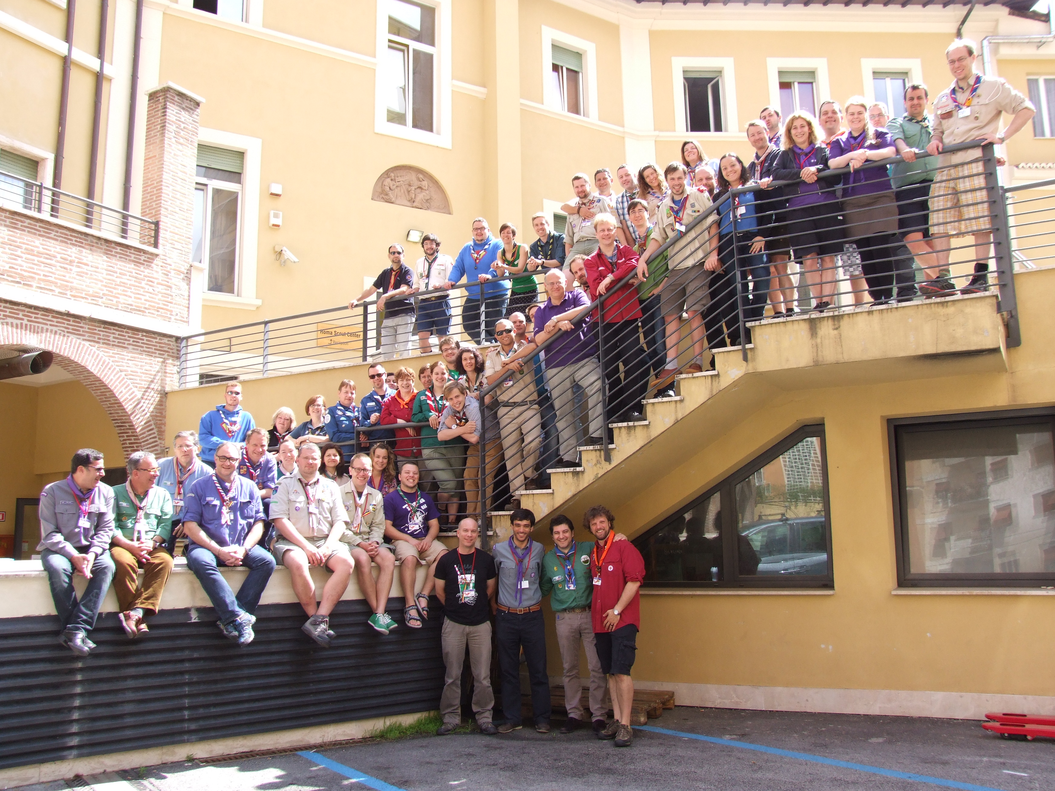 TNCM 2013 in Rome: the traditional Family Photo