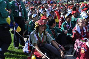 May my adventure begin: at the Moot opening ceremony in Ottawa
