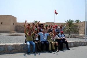 Josmar and members of his Clan visiting the Musandam Governorate