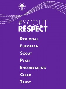 #ScoutRESPECT - creating a world built on respect