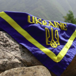 Scarf of Ukrainian Scouts