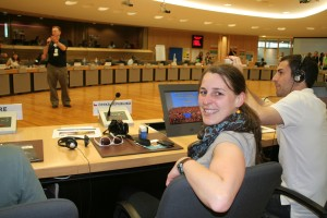 Looking behind the scenes (1): Open day at the EU Institutions in Brussels