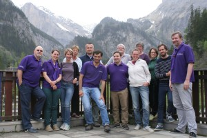 The European Scout Office Team in Kandersteg (1)