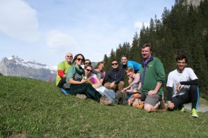 The European Scout Office Team taking fresh air in Kandersteg (2)