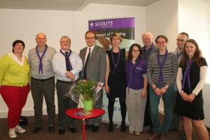 Official Opening of the new premises of the Brussels Office of the European Scout Office