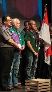 The Chairperson of the World Scout Committee welcome the Association des Guides et Scouts de Monaco as full Member Organisation
