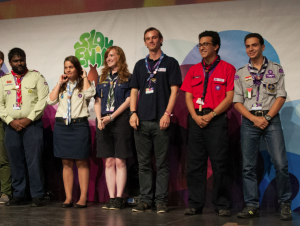 The new Youth Advisers to the World Scout Committee