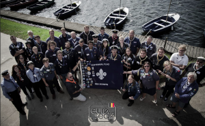 The traditional European Sea Scout Seminar Family Photo