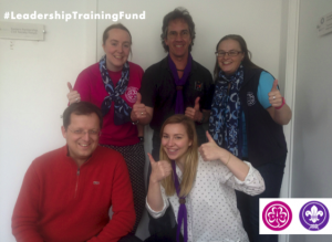 The members of the new Leadership Training Fund Team