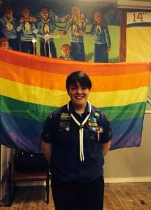Abigail, Venture Scout in Ireland