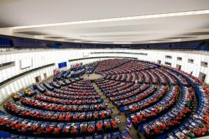 800 Scouts et Guides occupent les fauteuils des parlamentaires de l'Union Européenne à Strasbourg