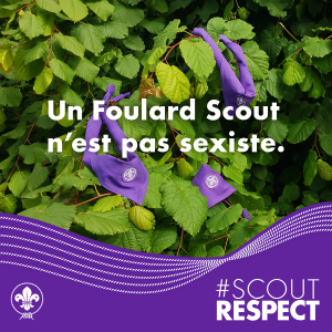 A Scout scarf is not sexist!