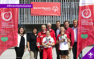 The Scouts and Guides of Austria join the Host Town Programme of the Speical Olympics 2017