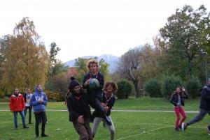 Des jeux au Jardin impérial d'Innsbruck