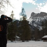 """Give a Year Scouts"" Admiring Kandersteg Landscape"