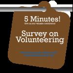Survey on Volunteering